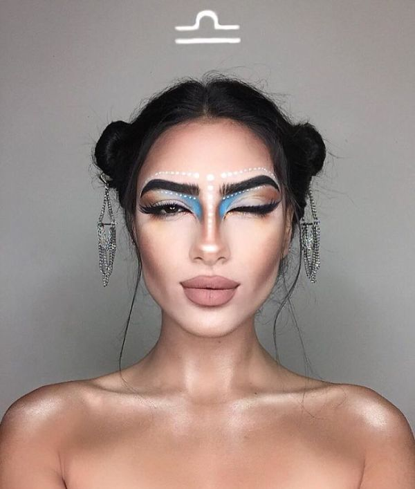 makeup artist zodiac signs setareh hosseini 8 58f7153d00f9c  700 - 12 Makeup Looks For Each Zodiac Sign  Which One Is The Best?