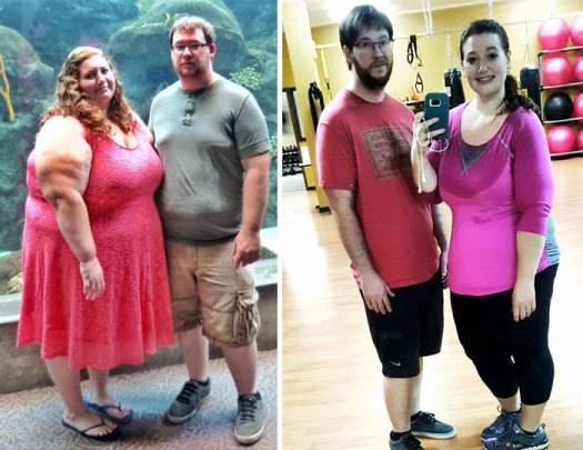 Couple Who Weighed 770lbs Have Lost Half Their Body Fat In 1 Year