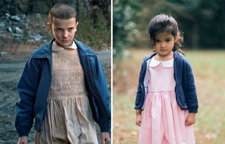 Millie Bobby Brown As Eleven And Scout