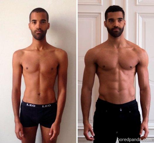 4.5 Month Body Transformation