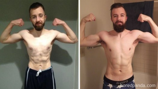 6 Months, 24 Years Old, From 137lbs To 160lbs