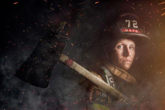 Mindy Gabriel, Firefighter In Upper Arlington, Ohio