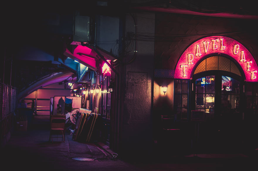 Magical Night Photography Of Tokyo's Streets