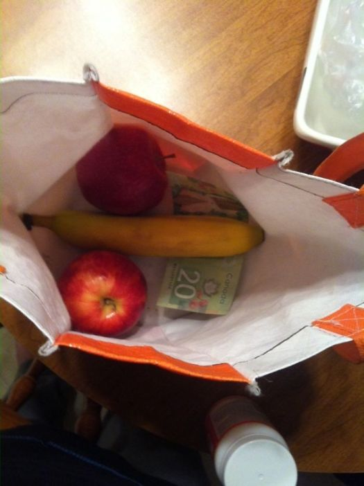 When You Ask Your Husband To Pack Your Lunch
