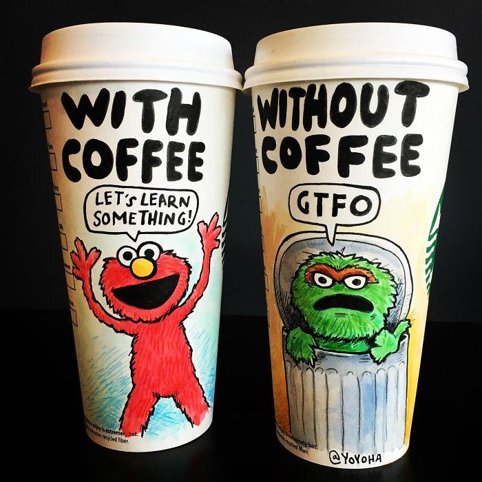 Bosen Sama Travel Mug Starbucks, Joshua Hara Punya Ide Kreatif