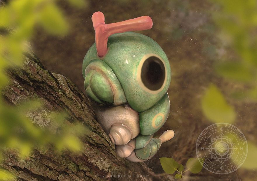 The Lovely Realistic Pokemon By Joshua Dunlop
