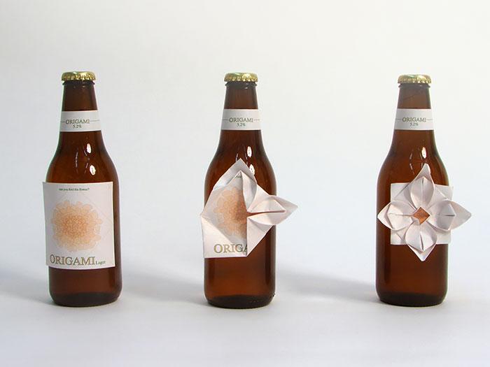 Cerveja Origami