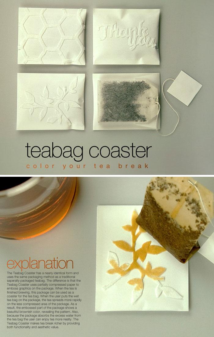 Coasters de Teabag