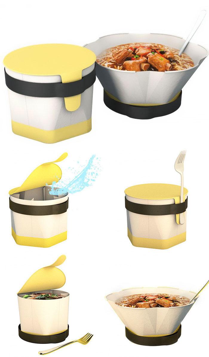 Caixa de embalagem instantânea de macarrão