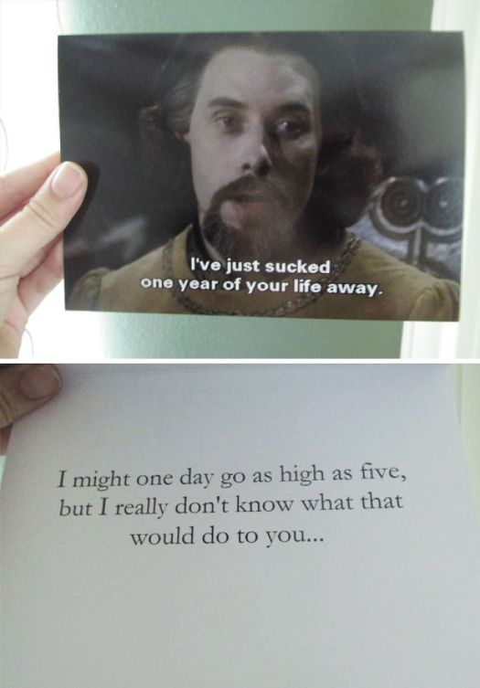 This Was The Card I Got My Husband For Our Anniversary. What Can I Say? I'm Sentimental