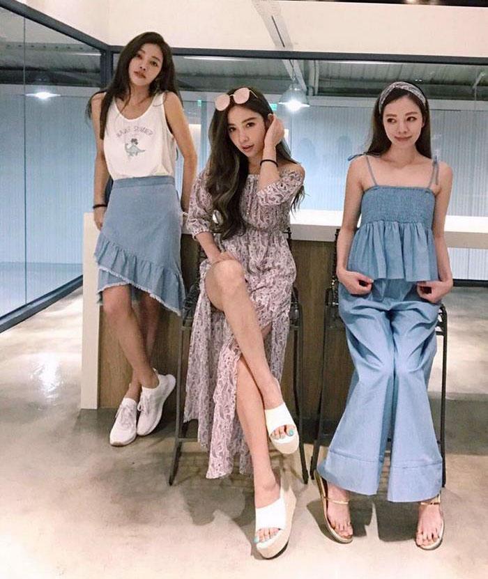 giovanile-taiwanese-donna-madre-sorelle-attirare-fayfay-sharon-Hsu-9