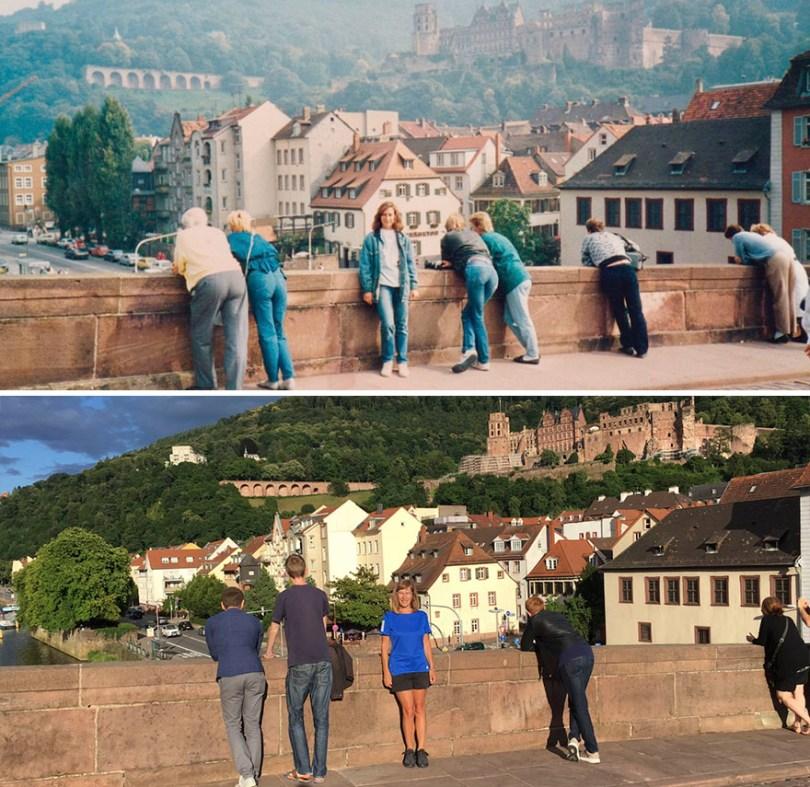 Trinta anos depois, em Heidelberg, Alemanha