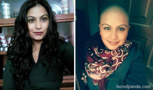Being Able To Overcome One Of Your Greatest Attachment, Makes You Perceive World Differently. Before And After Hair Cut