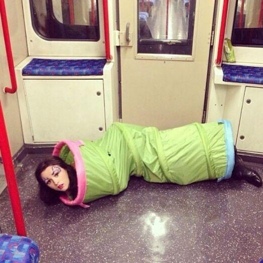 This Subway Creature