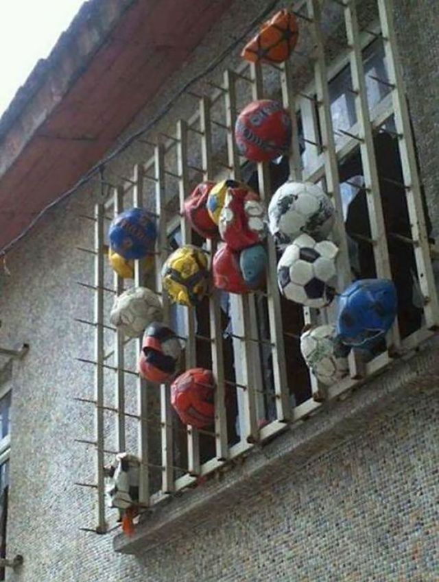 How To Stop Your Neighbours From Hitting Their Balls Against Your Wall