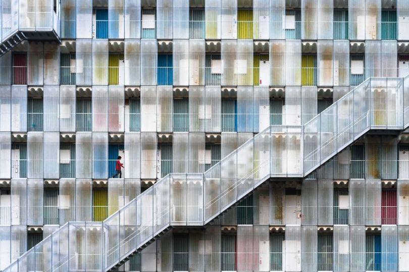 Menção Honrosa, Cidades: Apartamento Colorido, Kitagata, Gifu, Japão