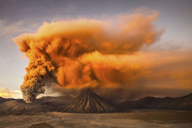 Honorable Mention, Nature: Mt. Bromo, East Java, Indonesia