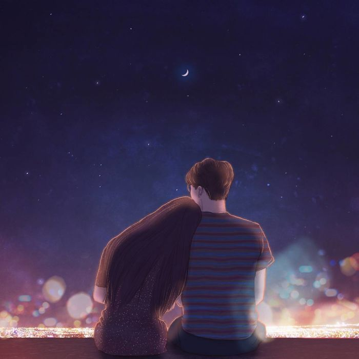 Watching The City Lights