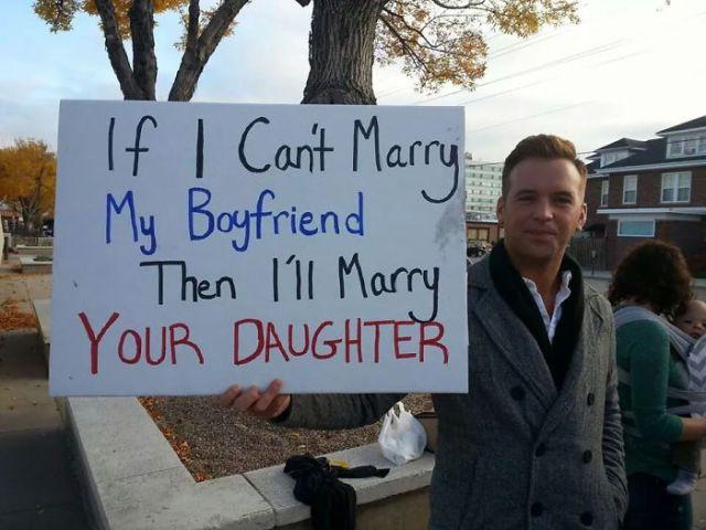Si no puedo casarme con mi novio, luego me casaré con tu hija