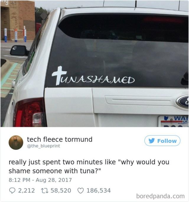 Tunashamed