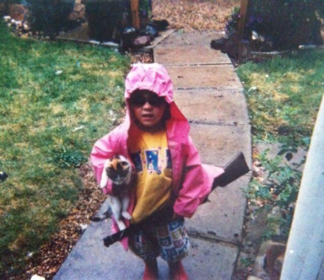 My Girlfriend Was A Pretty Badass Child