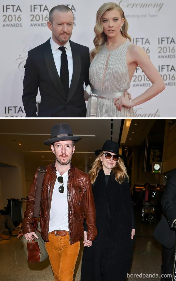 Natalie Dormer (Margaery Tyrell) And Her Fiancé Director Anthony Byrne