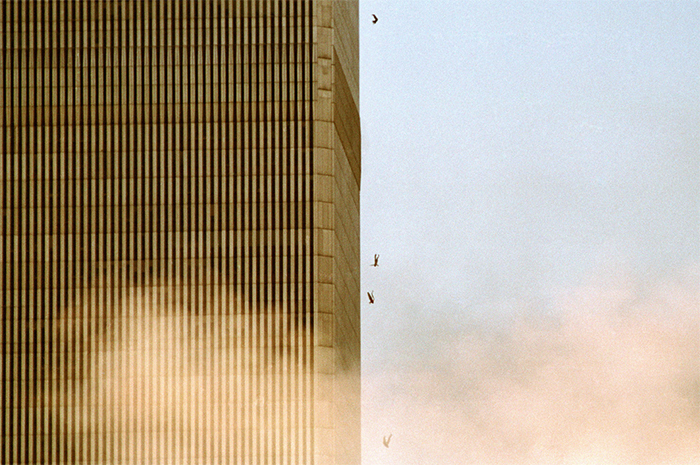 People Falling From The Towers