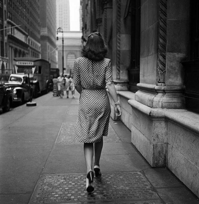 Caminando Por Las Calles De Noticia York, 1946