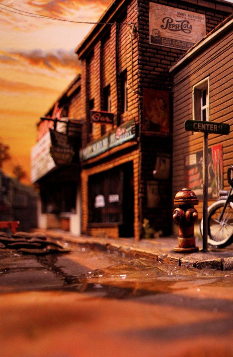 021  MG 5778 59d501b43e13e  880 - Artista constrói mini cidade baseado em filme de Stephen King