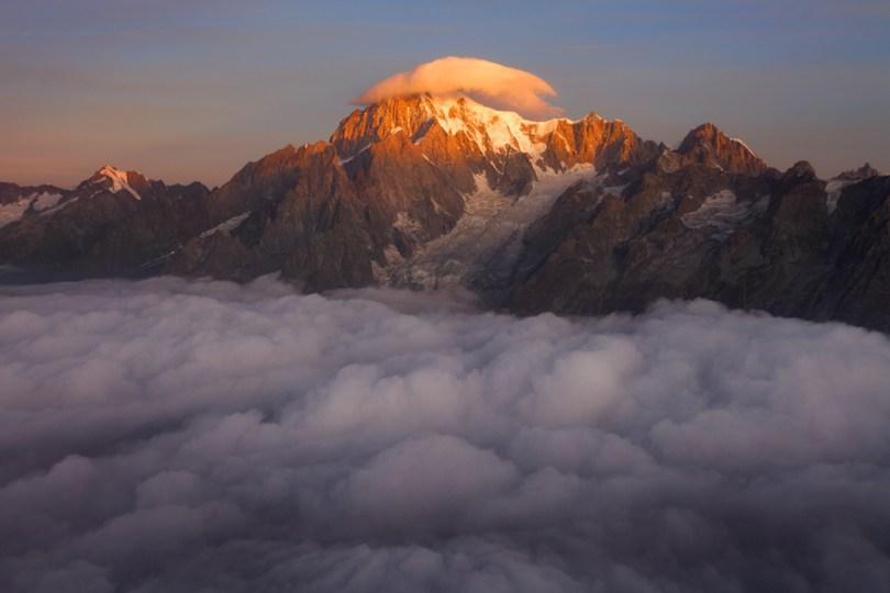 04 Mont Blanc with the Hat 59f3481a57071  880 - O mundo acima das nuvens