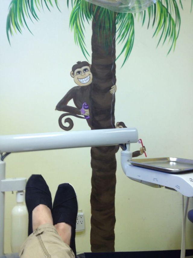 Por si no me otorga ya bastante miedo ir al dentista y tiene esto