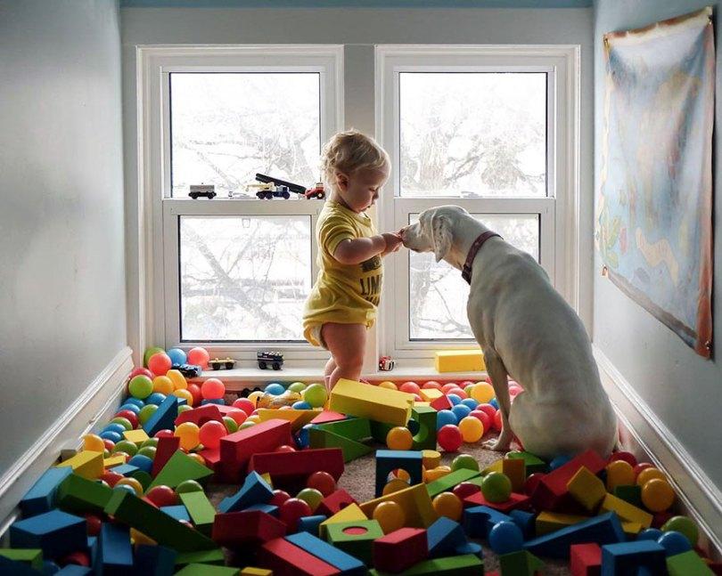 abused rescue dog love child nora elizabeth spence 44 - O melhor amigo do homem