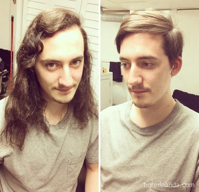 Haircut Transformation