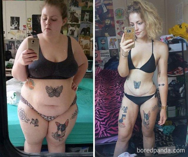 Soy la misma, mas he pasado de 135 a 65,7 kilos