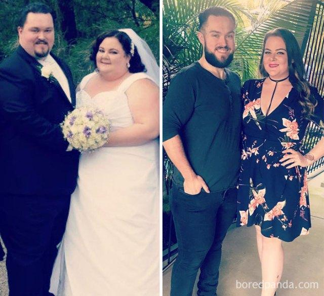 Entre los dos hemos perdido 177 kilogramos y todavía no hemos terminado