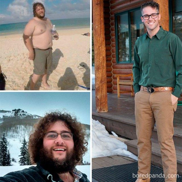 Tras perder 61 kilos