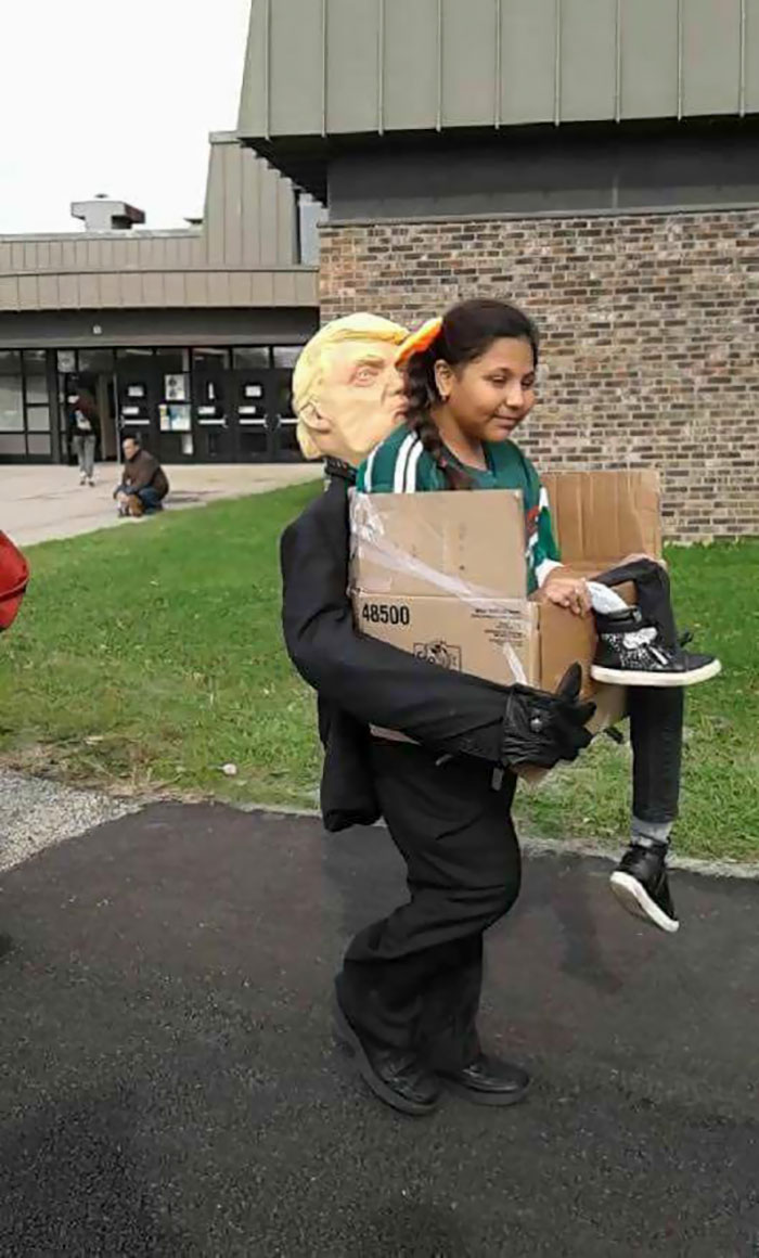 """Getting Deported By Trump"" Halloween Costume"