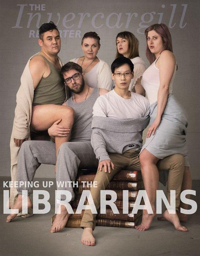 library-social-media-team-librarians-kardashian-photoshoot-2