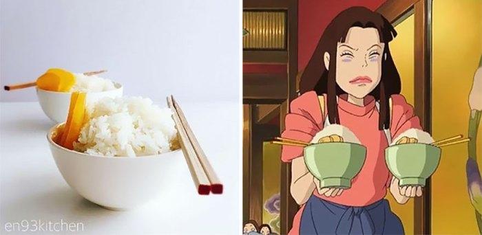 Rice Bowl From Spirited Away