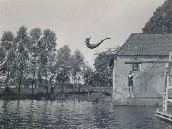 My Grandfather's Badass Swandive, 1930