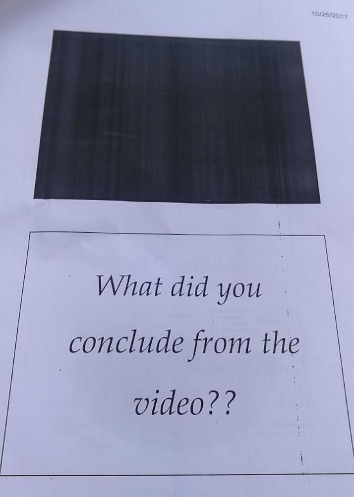 Apparently Videos Can't Be Printed