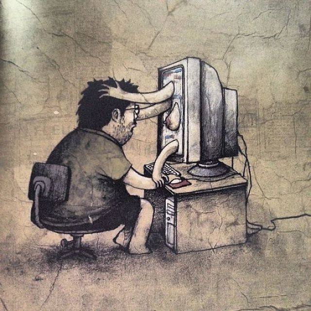 25+ Controversial Illustrations By The French Banksy That Will Make You Think