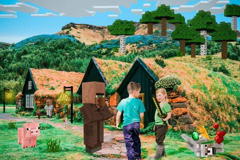 Yesie McEwan 121 5a00a61cc81ac  880 - Pai cria Minecraft Photo Series com os filhos