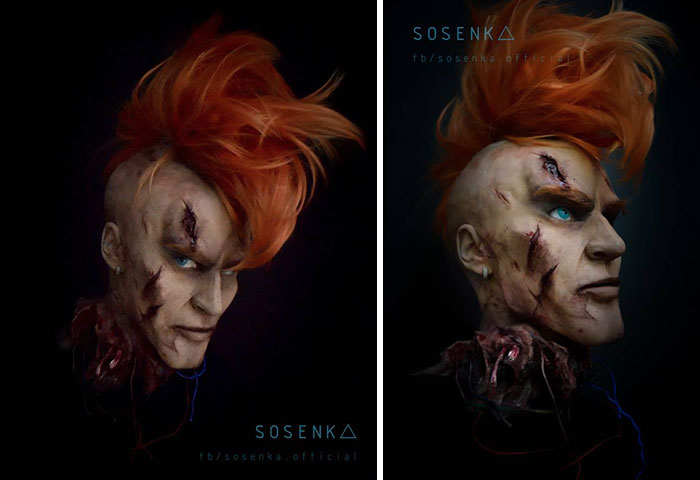 SelfTaught Polish Cosplayer Can Transform Herself Into Literally - This self taught cosplay artist can turn herself into any character