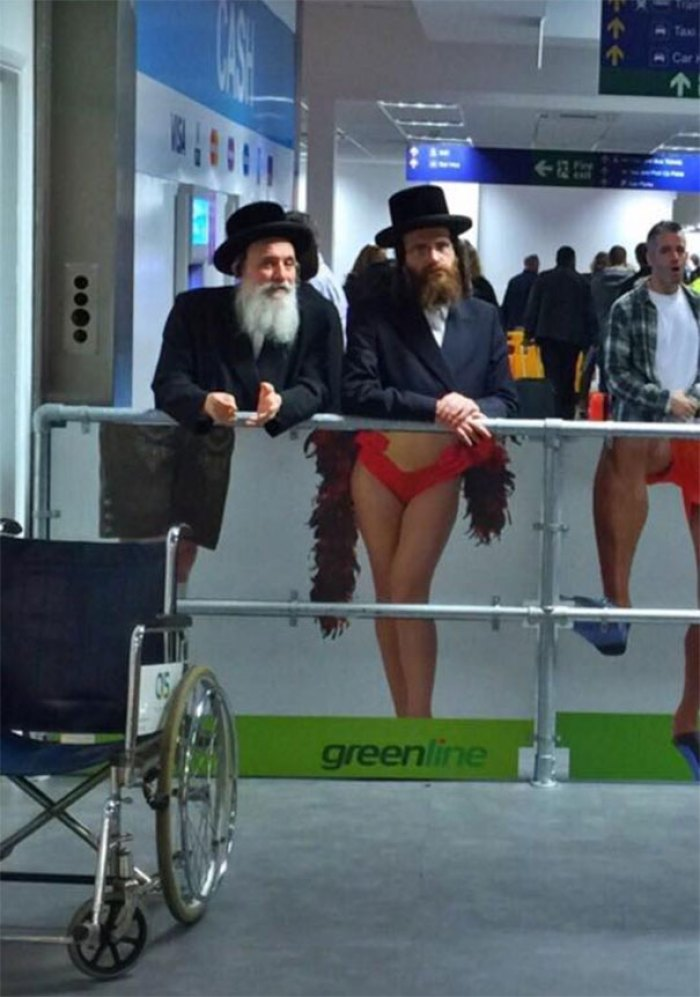 Seen At The Airport In Tel Aviv, Israel