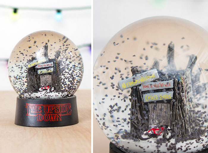 The Upside Down Snow Globe