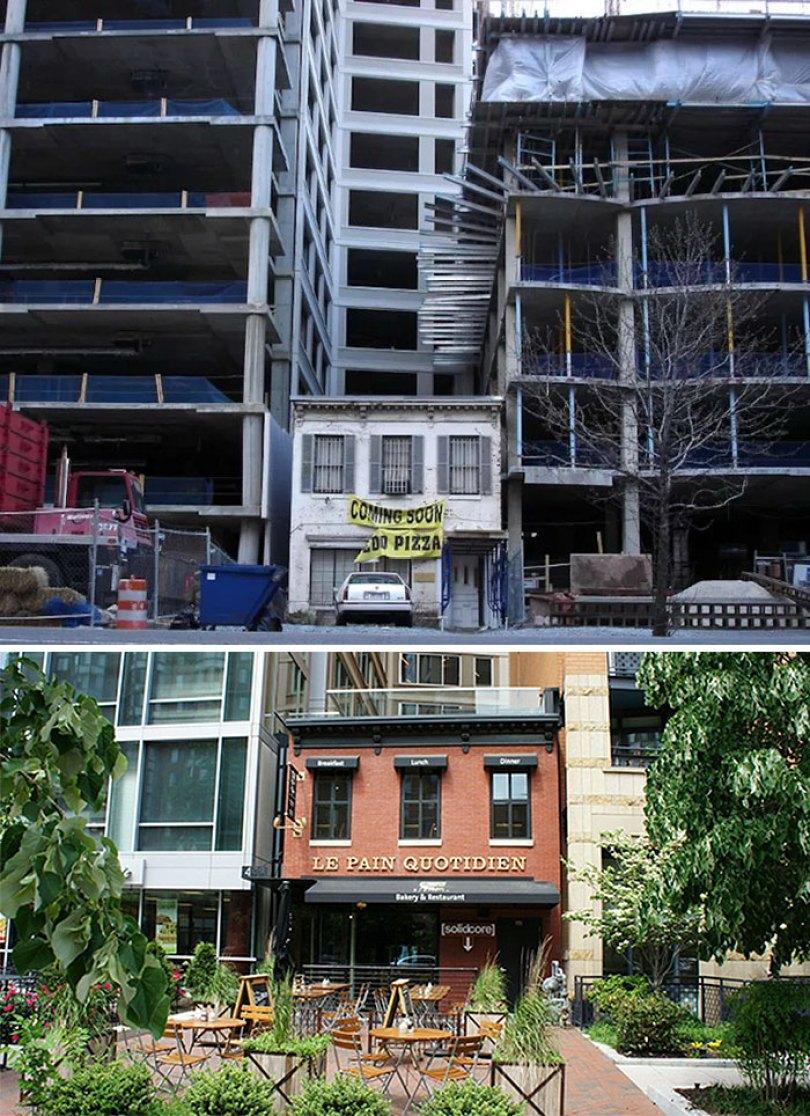 """stubborn home owners refuse to sell houses property 106 5a0c59af72163  700 - Casos iguais ao filme """"Up - Altas Aventuras"""" são muito comuns no Mundo"""