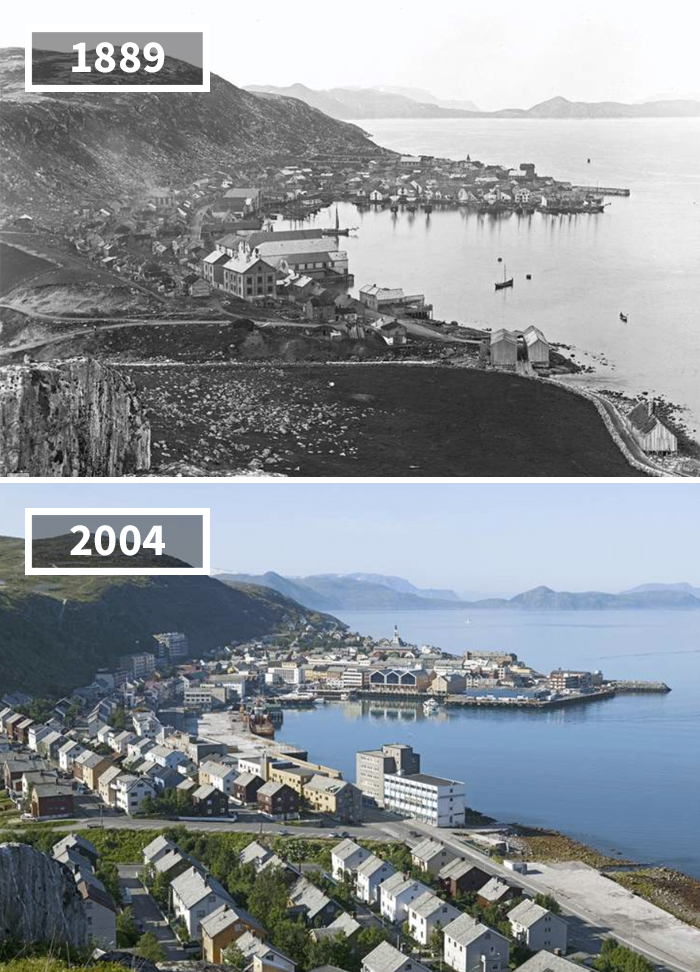 Hammerfest, Norway, 1889 - 2004
