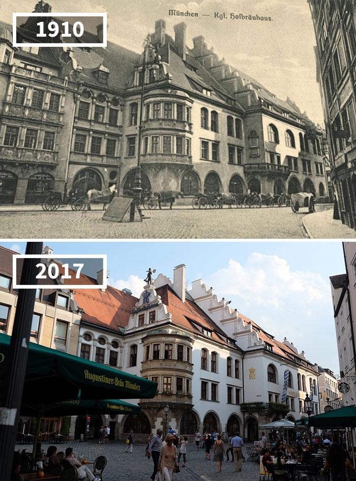 Hofbräuhaus München, Germany, 1910 - 2017