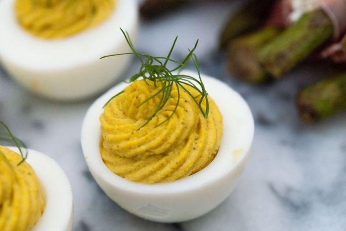 I Make Extra Fancy Deviled Eggs